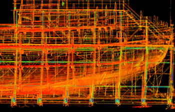 Heritage Point Cloud of The Mary Rose