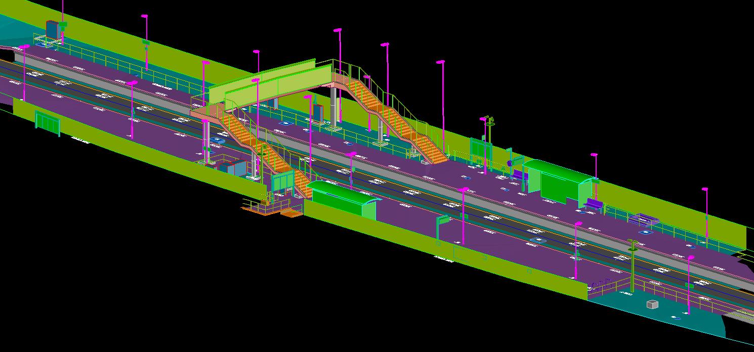 3D Model of a Platform