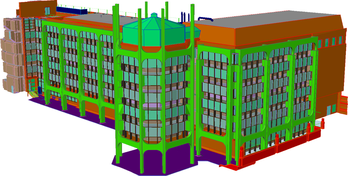 3d CAD Model of National History Museum