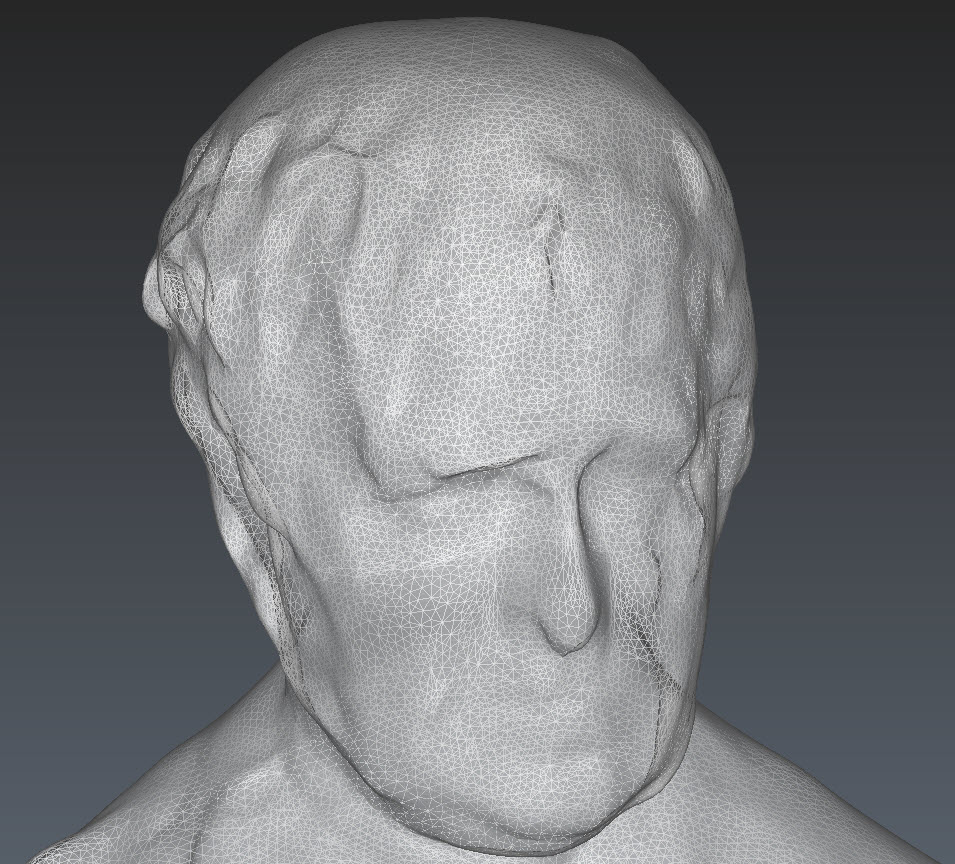 Statue Mesh