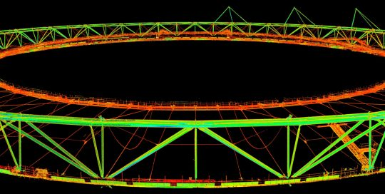 Olympic Stadium Point Cloud