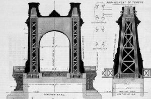 Hammersmith Bridge Tower Design Drawings
