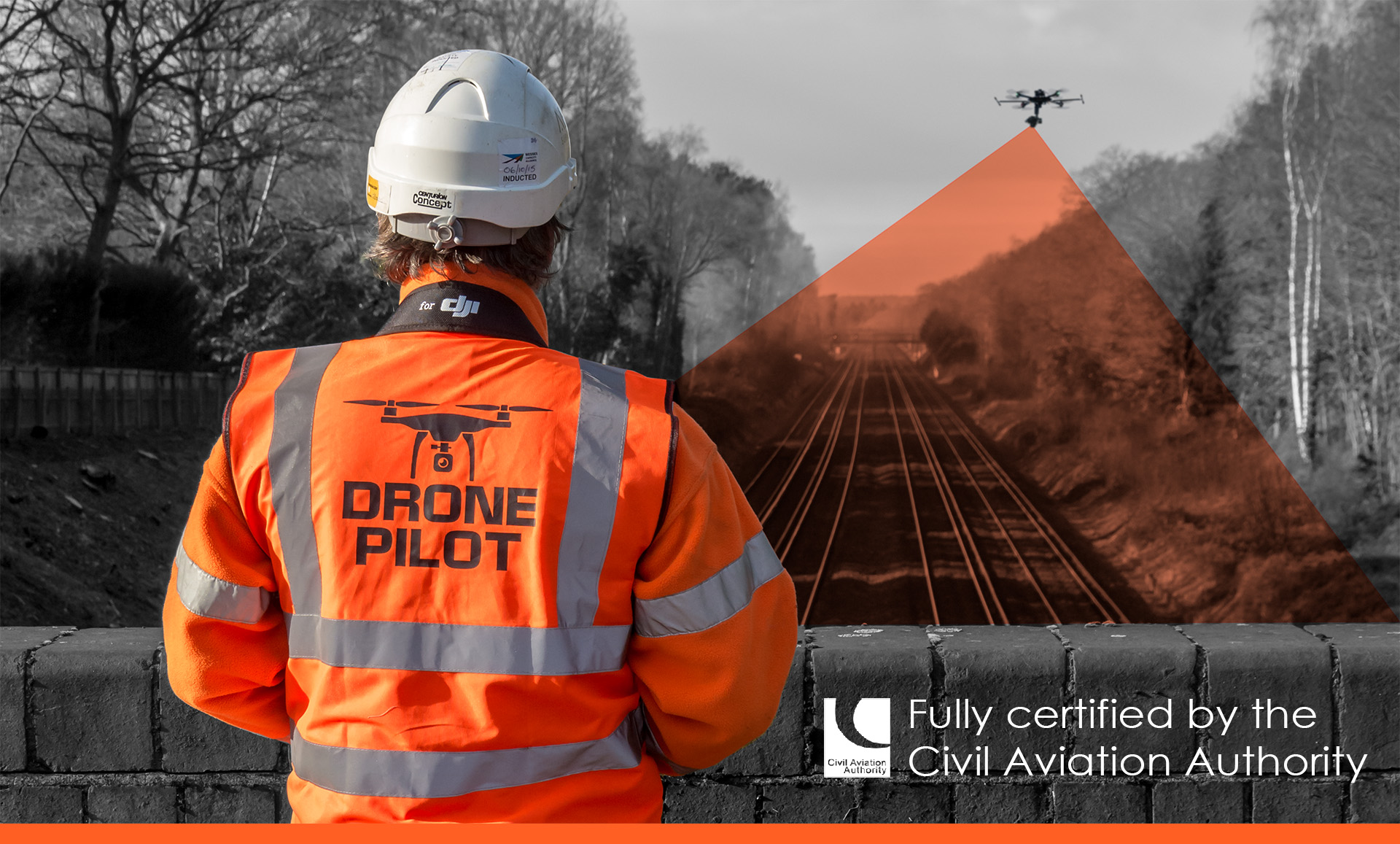 Fully Certified UAV Surveys Pilot